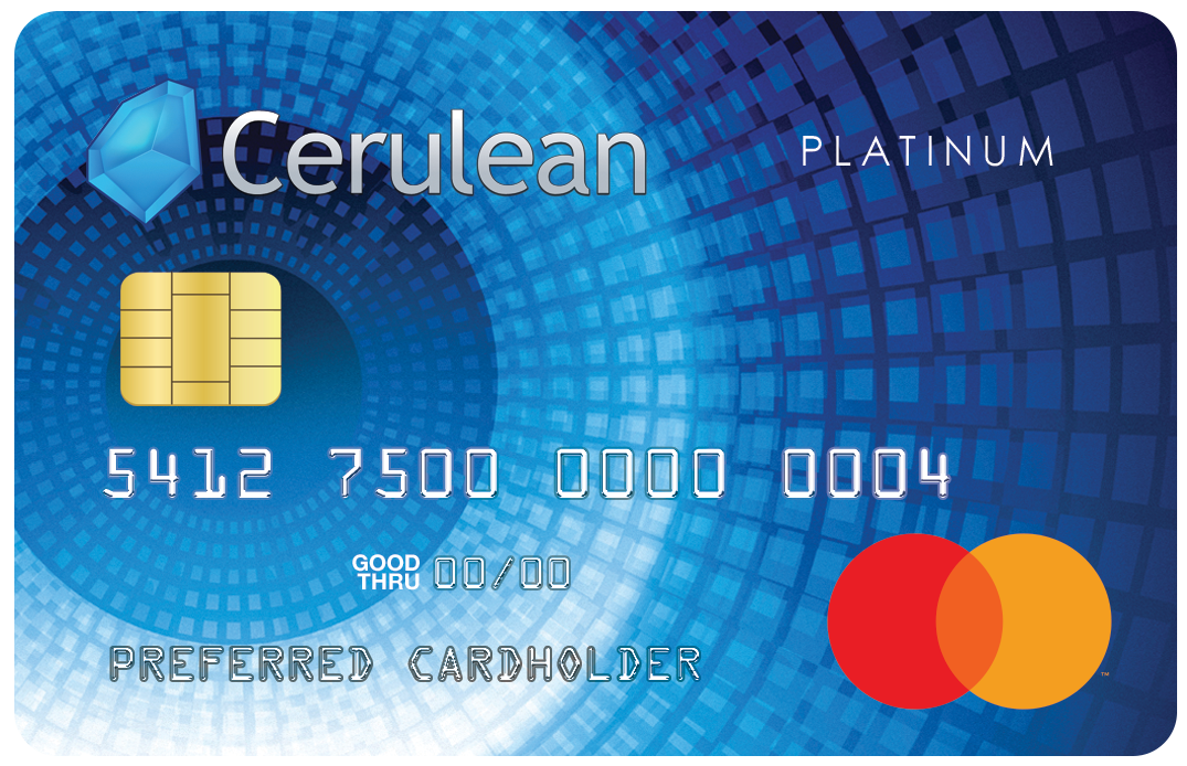 Cerulean mastercard your cerulean mastercard will have an initial credit limit of 750 and you may be eligible for a credit limit increase after just 6 months reheart Choice Image